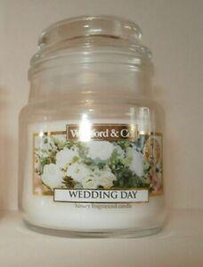 ❀ڿڰۣ❀ WICKFORD & CO Small WEDDING DAY Scented 70g CANDLE JAR ❀ڿڰۣ❀ New