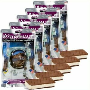 5 pcs. Astronaut Space Food - Vanilla Ice Cream Sandwich  - Astro Nutrition ISS