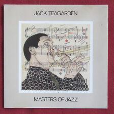 JACK TEARGARDEN  CD GER  MASTERS OF JAZZ