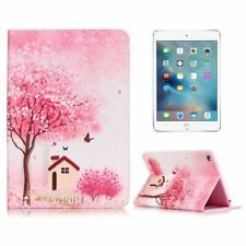 Pretty Pink Garden House Pattern Case for Apple iPad Mini 1 2 3 Protector Cover