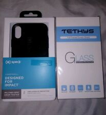 Apple iphone Case Speck & Glass Kit Tethys accessory bundle Candyshell Screen
