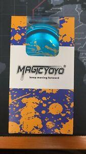 MAGICYOYO Responsive V6 Locus Aluminum Alloy YoYo Star Logo Kids Beginner