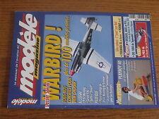 $$v Revue modele magazine RCM N°615 PLan encarte Playboy'40  Special Warbird