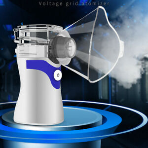 Ultrasonic Portable Nebulize Inhaler Mist Humidifier Machine Kit for Adult Kids