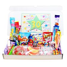 30TH BIRTHDAY RETRO SWEETS GIFT BOX