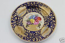 Antique Ridgway c1815 Porcelain Plate Cobalt Blue London Shape Pattern 2/1070