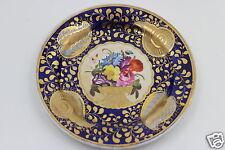 Antique Ridgway c1815 Porcelain Plate Cobalt Blue London Shape Pattern 2/1070