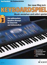 Keyboard Noten Schule : Der neue Weg zum Keyboardspiel 3 - ED7282 Keyboardschule