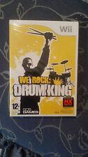 We Rock: Drum King WII   ITA NUOVO SIGILLATO