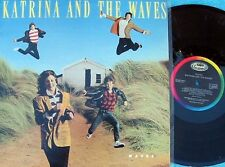 Katrina & The Waves~Original OZ LP Waves EX 1986 Sunshine Pop