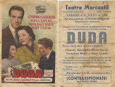 Programa PUBLICITARIO de CINE: DUDA.