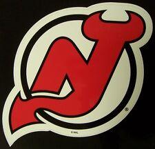 Window Bumper Sticker NHL Hockey New Jersey Devils NEW