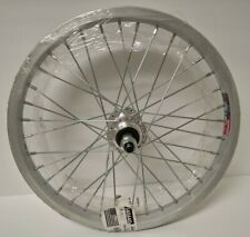 "16"" Weinmann 519 Aluminum BMX Wheel Freewheel Silver"