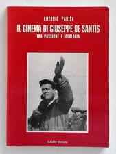 Il cinema di Giuseppe De Santis di Antonio Parisi Autografato 1983 Cadmo editore