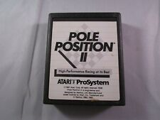 Pole Position II (Atari 7800, 1986) Game Cartridge Clean & Tested