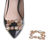 1PC Alloy Crystal Rhinestones Shoe Clips Women Bridal Prom Shoes Buckle jv