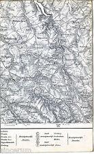 Frauenstein Hermsdorf Nassau 1924 Teilkarte/Ln Pretzschendorf Bobritzsch Sadisdf