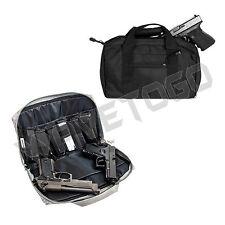 VISM NcSTAR Police Discreet Nylon Padded Pistol Hand Gun Magazine Case Bag Black