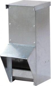 Futterautomat für Geflügel - verzinkt - (10l)