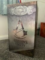 ASSASSINS CREED UNITY GUILLOTINE EDITION (no Game) BRAND NEW COLLECTIBLES SET
