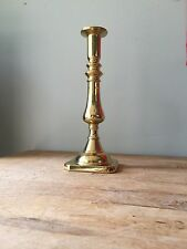 """Tall Vintage Harvin Brass 9"""" Candlestick #3001 GREAT CONDITION"""