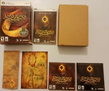LORD of the RINGS Online Shadows Of ANGMAR para PC COMPLETO Vesion AMERICANA