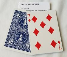 Two Card Monte, Bicycle Cards includes Vinyl Card Wallet (2077)