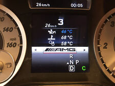 MERCEDES AMG-style cluster and Audio activation GL ML GLE GLS A B CLA GLA SL