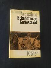 AUGUSTINUS BEKENNTNISSE GOTTESSTAAT KRONER 1965