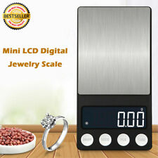 Pocket Digital Scales Jewellery Gold Weighing Mini LCD Electronic 5-Size New