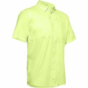 Under Armour 1351123 Men's UA Tide Chaser 2.0 Fishing Short Sleeve Shirt, UPF 30