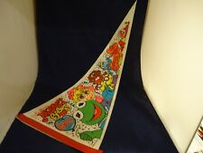 Muppet Babies Live Promotional Display Pennant Banner Kermit Miss Piggy Gonzo