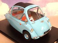 Oxford Diecast 1/18 Heinkel Trojan Bubble Car Rhd (Kabine) in Roman Blau 18he001