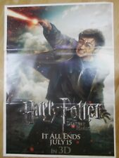 HARRY POTTER DEATHLY HALLOWS  2 2011  Rare Film Poster India Orig ENG HINDI