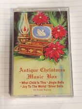 Antique Christmas  Music Box Cassette Tape 12 Tunes (Factory Sealed)