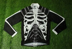 CYCLING L/S SHIRT JERSEY MAGLIA SKELETON NORTHWAVE X ARSUXEO NW ORIGINAL SIZE M