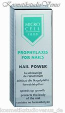v MICRO CELL 3000 Nail Power  Nagellack  Pflegelack 12 ml