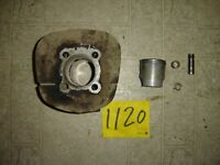 YAMAHA  250 DT 1  DT 1 MX  ENGINE CYLINDER, PISTON AND RINGS