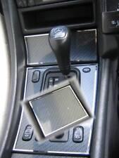 D Mercedes W208 CLK Chrom Rahmen für Schaltung Ascher Ablage