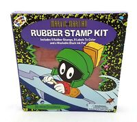 Marvin the Martian Rubber Stamp Kit Looney Tunes Craft Supplies Rubber Stampede
