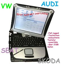 Profi dispositivo diagnostico Panasonic Notebook Laptop BMW VW Mercedes Audi Mini VAG!!!