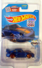 Hot Wheels 2016 114/250 Blue Porsche 993 GT2 Factory Set w/ Protecto-Pak