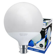 LED Globe Light Bulb 18w Replacement for 162w B22 PURE WHITE Energy Saver G120