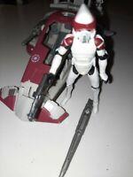 Star Wars Republic Scout Speeder Clone Wars and arf trooper