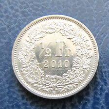 """Münze 1/2 Schweizer Franken 2010 """"B"""" aus Umlauf gültiges Zahlungsmittel"""