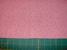 "32"" x 45"" pink florals on pink cotton quilt fabric - last piece Pnk282"
