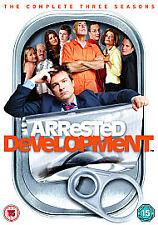 Arrested Development - Series 1-3 - Complete (DVD, 2009, 10-Disc Set, Box Set)