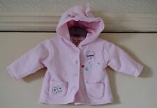 Baby Girl's Hooded Jacket by Tiny Ted size 0-3 mths