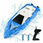 40 Min RC Boat - 2.4Ghz Remote Control Boats for Pools and Lakes - 10km/h Hig...