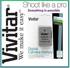 2300mAh Vivitar EN-EL14a Battery for Nikon D5200 D5100 D3200 D3100 D5300 D3300